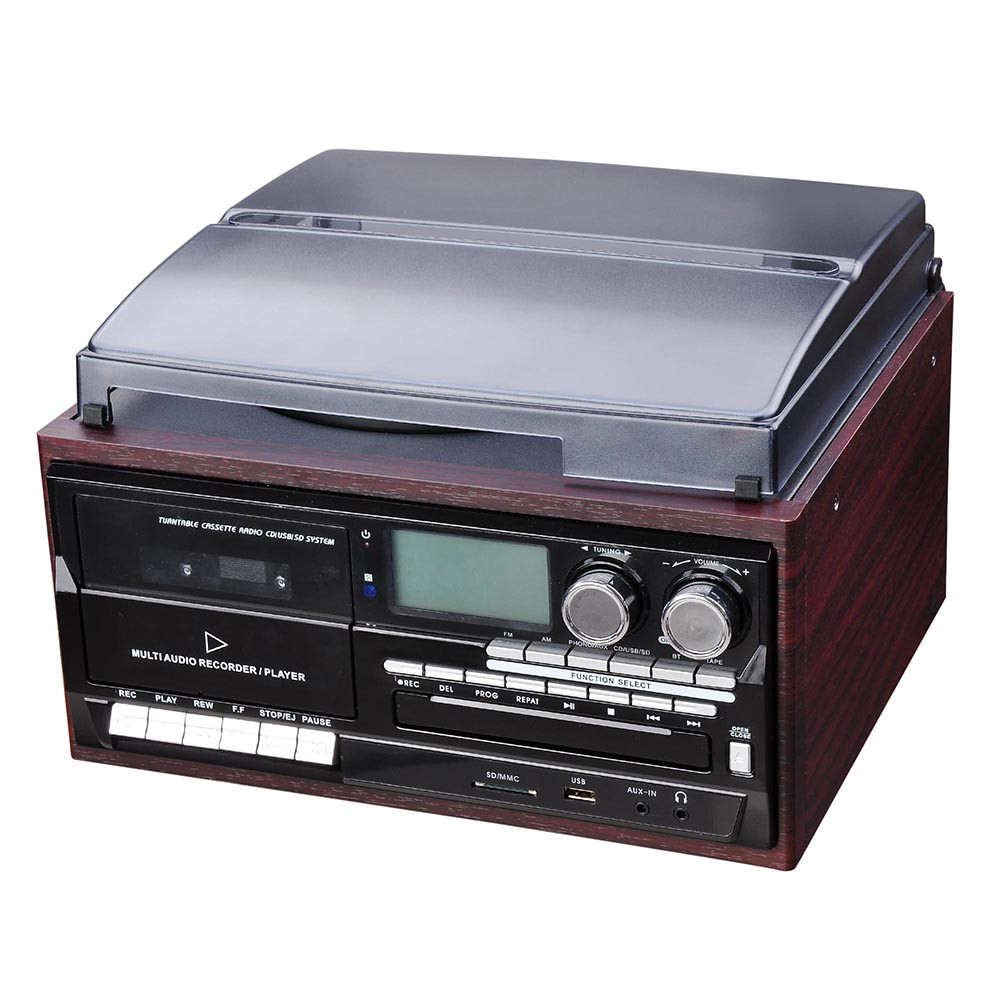 Turntable Vinyl Record Player with Stereo Speakers ...  |Record Player Display